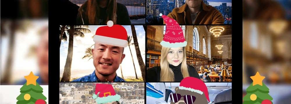 Christmas Day Celebrated Online