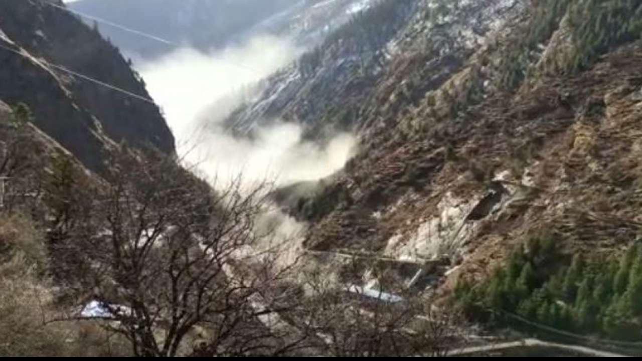 Glacier Break in Chamoli Uttarakhand