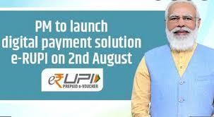Modi Launches e-RUPI