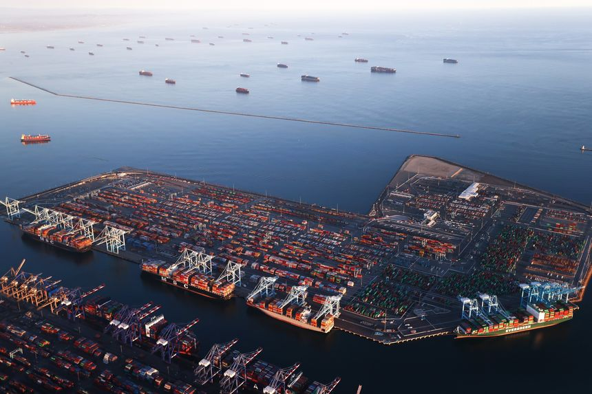 Port Los Angeles Witnesses More Congestion