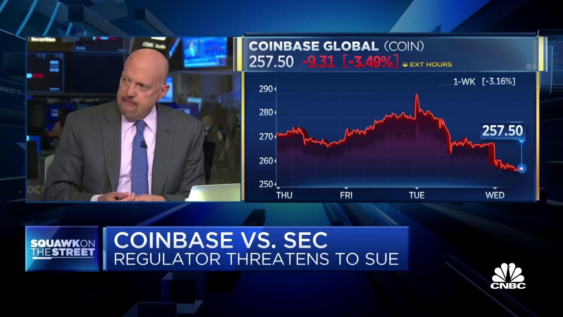 SEC Vs Coinbase